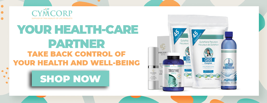 CYMCORP YOUR HEALTH-CARE PARTNER TAKE BACK CONTROL OF YOUR HEALTH AND WELL-BEING
